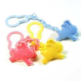 $enCountryForm.capitalKeyWord Canada - High Quality Baby care Pacifier Clip Baby Dummy Chain Feeding Product Animal Cartoon Baby Pacifier Anti lost Chain Accessories