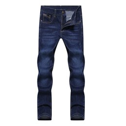 Chinese  Wholesale- 2016 mens straight skinny denim jeans pants fashion slim fit trousers 28-38 JPYG153 manufacturers
