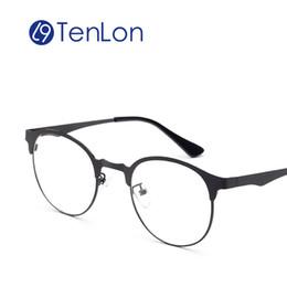 49cd5b8fdd21 Wholesale- TenLon Super Light Thin Glasses Frame Prescription Fashion  Women s Glasses oculos de grau femininos frame eyeglasses