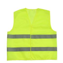 Опт Горячая рабочая безопасности строительство жилет предупреждение светоотражающие движения рабочий жилет зеленый светоотражающие безопасности одежда dhl бесплатно