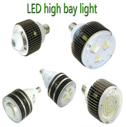 Cree Canopy lights online shopping - UL DLC E27 E40 Hook LED High Bay Light CREE W W W W W W W Gas Station Canopy Lights AC V