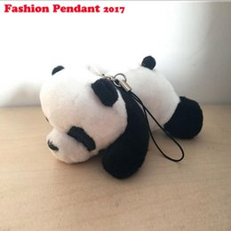 $enCountryForm.capitalKeyWord Canada - New Small 9cm Panda Keychain Pendant Cute Kawaii Quality Baby Children Plush Toys Hot Sell Kids Toys for Children dhl shipping