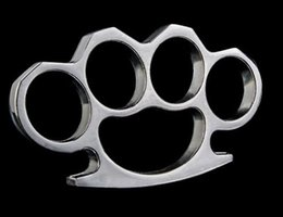 Chinese  Thickness 13 mm Brass knuckles dusters Self Defense Personal Security Women's and Men's self-defense Pendant manufacturers