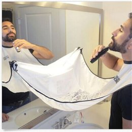 Shave Cloth Beard Whiskers Bib Mens Facial Hair Trimmings Catcher Shaving Avental Cape Cloth