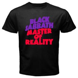 Rock masteR online shopping - BLACK SABBATH Master of Reality Metal Rock Band Mens Black T shirt Size S XL Summer Man T Shirt Tops Tees New