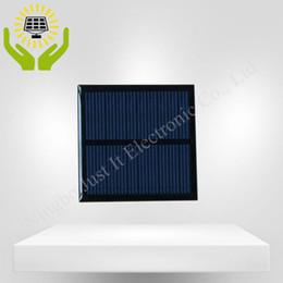 Panneau solaire 5V 80mA 60 * 60mm de résine époxyde 100pcs / lot mini