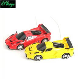 Remotes For Cars Canada - Wholesale-2 Channels rc car wireless radio remote control cars electric toys for boys machine to remote control car model gift PI0648