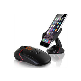 Lenovo hoLder online shopping - Creative Dashboard Car Phone Stand Holder One Touch Mouse Suction Cup Cradle For Huawei P7 P8 P9 Lite Lenovo P780 P70