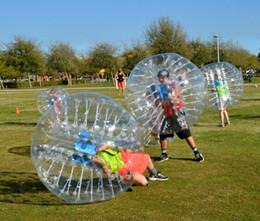 $enCountryForm.capitalKeyWord NZ - 1.5m 0.8mm Inflatable Clear Human Hamster Bal Soccer Bubble Ball Bumper Ball Zorb Ball For Football