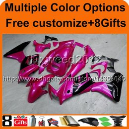 Honda Motorcycle Aftermarket NZ - 23colors+8Gifts PURPLE aftermarket motorcycle cowl for HONDA CBR125R 2004-2005 04 05 CBR 125R 04-05 ABS Plastic Fairing