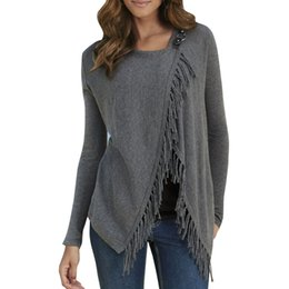 Women S Grey Knit Cardigan Online | Women S Grey Knit Cardigan for ...
