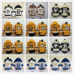 545921176 2017 Pittsburgh Penguins hoodies Evgeni Malkin Phil Kessel Sidney Crosby  Kris Letang Matt Murray Stadium Series Hockey Hoody Sweatshirts