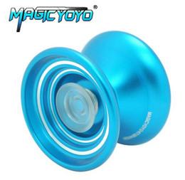Metal Yoyo For Kids NZ - MAGICYOYO K7 Aluminum Alloy Professional Magic Yoyo YO-YO Classic Toys Gift For Kids Children