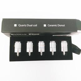 2017 Authentic Original Yocan Evolve Plus Replacement Coils Heater Coil Wax Heater Vaporizer Quartz & Ceramic Coils for Dry Herb Vaporizer on Sale