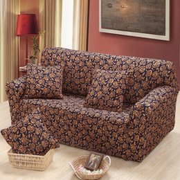 Discount Single Sofa Seat Lovely Camellia Sofa Cover Fabric For Single  Double Three Seat Sofa Covers