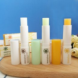 kinds lips UK - DHL famous brand innisfree canola honey lip balm smooth care deep moisture 3.5g 3 kinds styles Protect wet moist lips Care