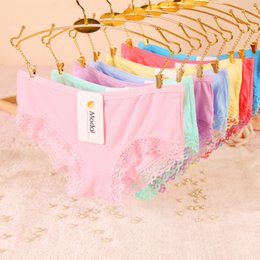 Voir Des Petites Culottes Pas Cher-Nouvelle Arrivée Sous-vêtements Femmes Culottes Sexy Bow Briefs See Through Femmes Seamless Lace Lingerie Gauze Panties