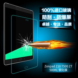 China Wholesale- NEWCOOL 9H 0.33mm HD Tempered Glass Screen Protector Protective Film For ASUS ZenPad Z10 ZT500KL ZT500 ZT 500 9.7 inch Tablet cheap asus hd tablet suppliers