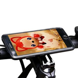 bicycle stem caps 2020 - For iphone 7 Bike Stem Cap Mount Clip Grip Cellphone Holder Aluminum Alloy Bicycle Phone Holder