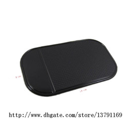 $enCountryForm.capitalKeyWord Canada - Smart Pad Silicone Anti Slip Car Dash Mat Sticky Pad Black Holds Securely Your Keys Mobile Phone Glasses