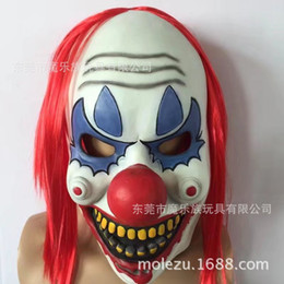 $enCountryForm.capitalKeyWord Canada - Funny Party Cosplay Evil Circus Clown Mask Pennywise Halloween Horror Party Joker Face Mask Fancy Dress Costume Accessory toys