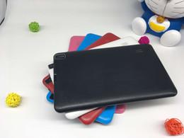 A33 Quad Core Tablet 9 pulgadas Allwinner A33 Tablet 8 GB con doble cámara WiFi OTG Bluetooth linterna cámara trasera DHL gratis