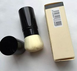 Packages Hair Boxes Canada - RETRACTABLE KABUKI BRUSH - Box Package - Beauty Cosmetics Makeup Brushes Blender DHL Free Shipping