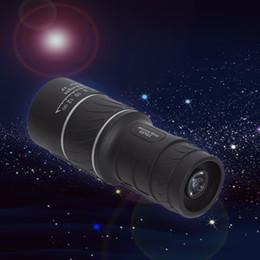 $enCountryForm.capitalKeyWord Canada - MOQ:50pcs 16X52 HD Spotting scope Telescope Monocular Telescope Caliber For Sport Camping wide angle low light night vision Best Price