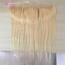 "$enCountryForm.capitalKeyWord NZ - Blond Hair Lace Closure Frontal #613 100% Virgin Human Hair 13X4"" Straight Hair Frontal Closure Pre Plucked"