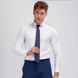 $enCountryForm.capitalKeyWord Australia - high quality dress shirt Cultivate one's morality ball party tuxedo shirt soft comfortable groom formal shirt