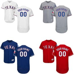 factory price 987fc 3e412 mens texas rangers customized red jersey