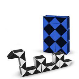 $enCountryForm.capitalKeyWord NZ - Magic Cube Puzzle Plastic Puzzles Twist Jigsaw Puzzle Magic Ruler 3D Snake Toys Children Education Intelligence Fidget Toys
