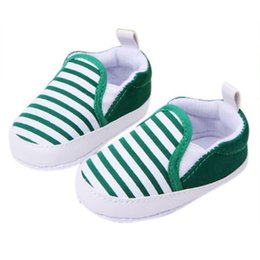 $enCountryForm.capitalKeyWord NZ - Fashion Baby First Walkers Shoes Kids Soft Boom Walking Shoes Boy Girl Striped Anti-Slip Sneakers 3 Colors