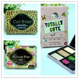 Sugar catS online shopping - HOT NEW Makeup Eyeshadow Palette Cat eye Totally Cute Sugar pop Eye Shadow Collection color GIFT dhl