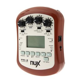 Best Guitars Canada - NUX PA-2 Acoustic Guitar Effect Pedal Multifunctional Portable Guitar best delay pedal