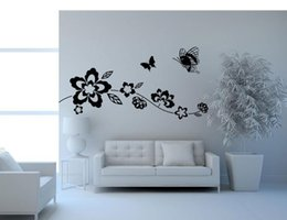 $enCountryForm.capitalKeyWord Australia - 9036 Ivy Vine Butterflies Sitting Room Bedroom Wall Decals Background Wallpaper Customized Wholesale Water to Remove
