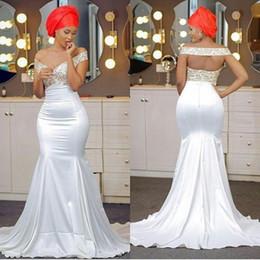 23fd881c830 AfricAn print evening dresses online shopping - Elegant Aso Ebi Style Prom  Dresses V Neck Off