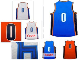 Italy Russell Westbrook Orange Jersey Youth 32cee Face4