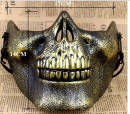 Mask for airsoft paintball online shopping - Eco Friendly Skull Masks Fun Paintball PVC Airsoft Scary Skeleton Mask Protective CS Games Halloween Carnival Outdoor Party