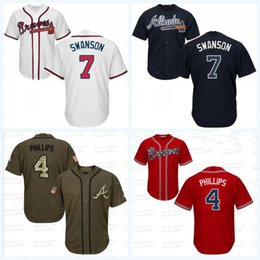 buy popular f25b5 73f12 7 dansby swanson jersey knit