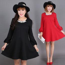 Black dress size 6 fat