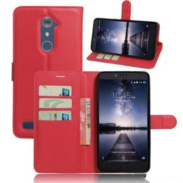 Discount protective phone cases zte - For ZTE Zmax Pro Z981 Cases Cover Popular Wallet Case Leather Skin Flip Shell Protective Phone Bags Zmax Pro Z981 case 9
