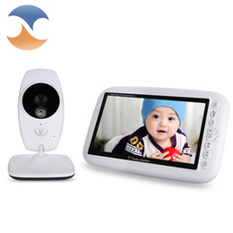 $enCountryForm.capitalKeyWord NZ - Wholesale- 7.0 inch 2.4GHz Wireless Video Baby Monitor TFT LCD Dual View with Infrared Night Vision Security baby Nanny