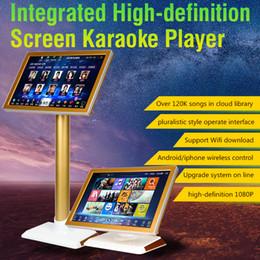 Gros-HD-HYNUDAL Karaoké Chinois Lecteur Karaoké Maison 2 To HDD Lecteur Écran Tactile Haute Définition Intégré