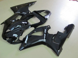 Motorcycle fairing kits abs plastic online shopping - Free Customize motorcycle for YAMAHA YZF R1 fairings kit black YZFR1 High quality ABS plastic fairing kits