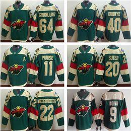 ... Reebok Green 2016 Stadium Series Team Premier Jerseys Minnesota Wild  hockey stadium series jersey 11 Zach Parise 64 Mikael Granlund 40 Devan  Dubnyk 9 ... 611360c8c