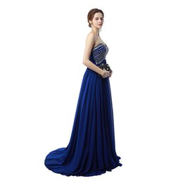 cowl neck backless prom dress NZ - High Quality 2019 Free Shipping Sexy Fashion vestidos de Noiva Prom Dresses Sweetheart Neck Evening Gowns