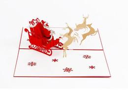 Shop kirigami cards christmas uk kirigami cards christmas free kirigami cards christmas uk 3d pop up card christmas custom greeting cards gift folding kirigami m4hsunfo