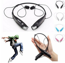 sport mp3 earphone bluetooth Australia - HV-800 Wireless Bluetooth Sports Neckband Headphones Earphones With MP3 Mic Hands HV 800 For iphone7 6s Samsung S5 LG Cell Phone