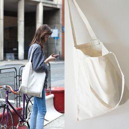 $enCountryForm.capitalKeyWord Canada - Wholesale- Korean Brand Designer Women Canvas Shopping Bags Eco Shopper Tote Versatile Hasp Shoulder Bag Foldable Ladies Handbag Crossbody